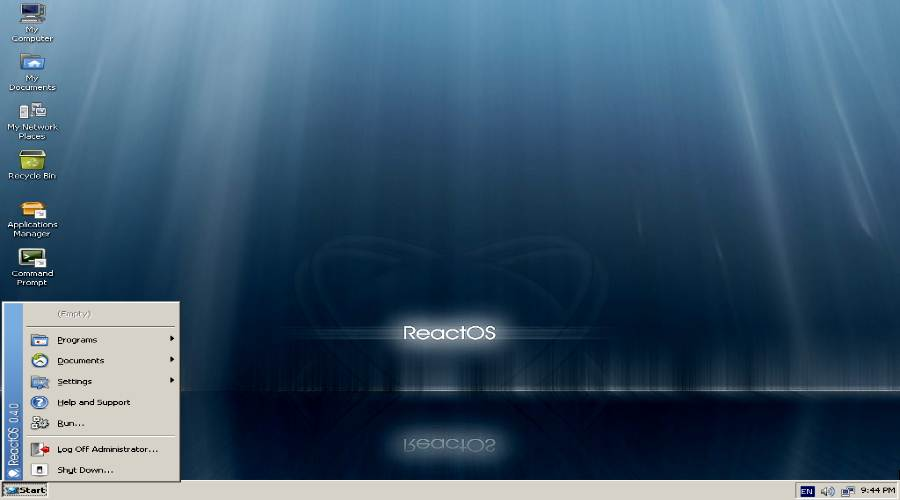 ReactOS - Lightweight Linux Distros
