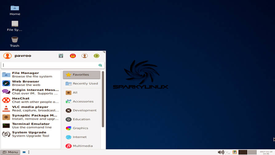 Sparky Linux - Lightweight Linux Distributions