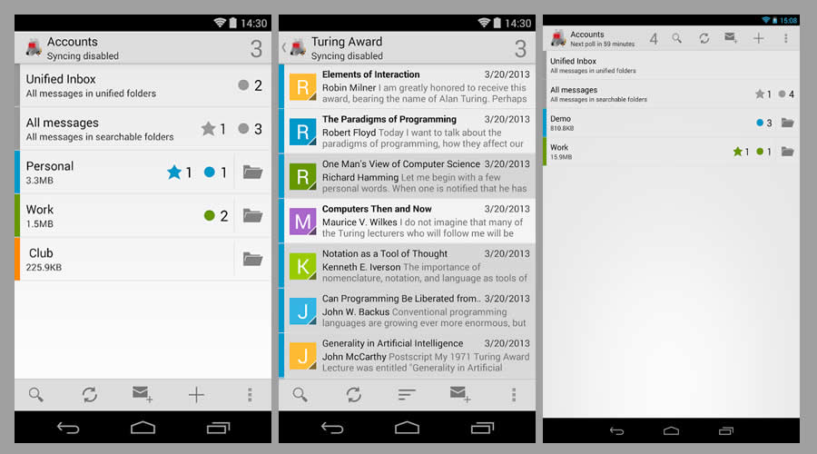 K-9 Mail - Best open-source Android apps