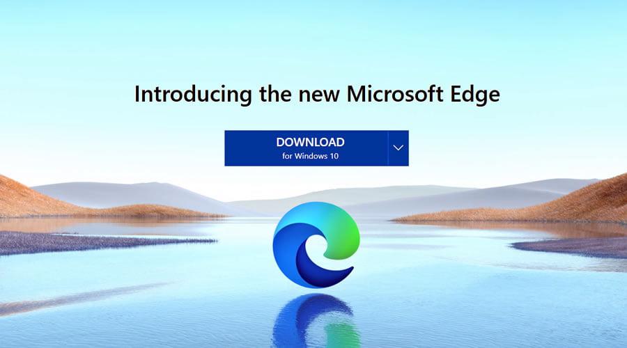 Chromium-based Microsoft Edge browser