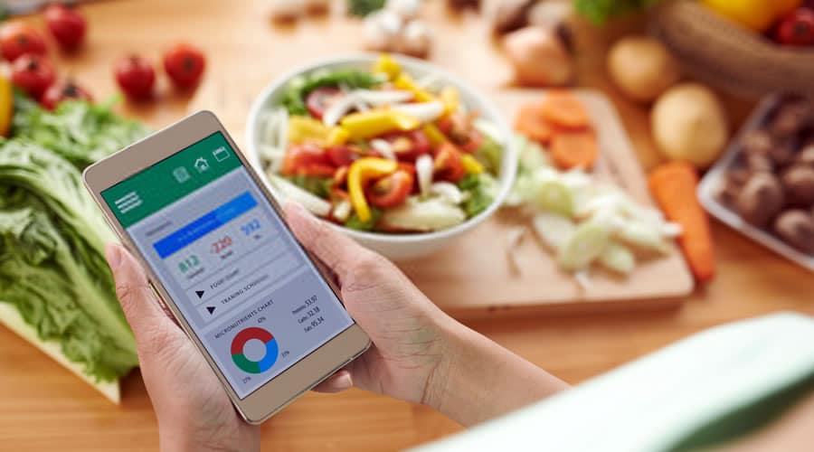 Apps for Eating Healthy Food