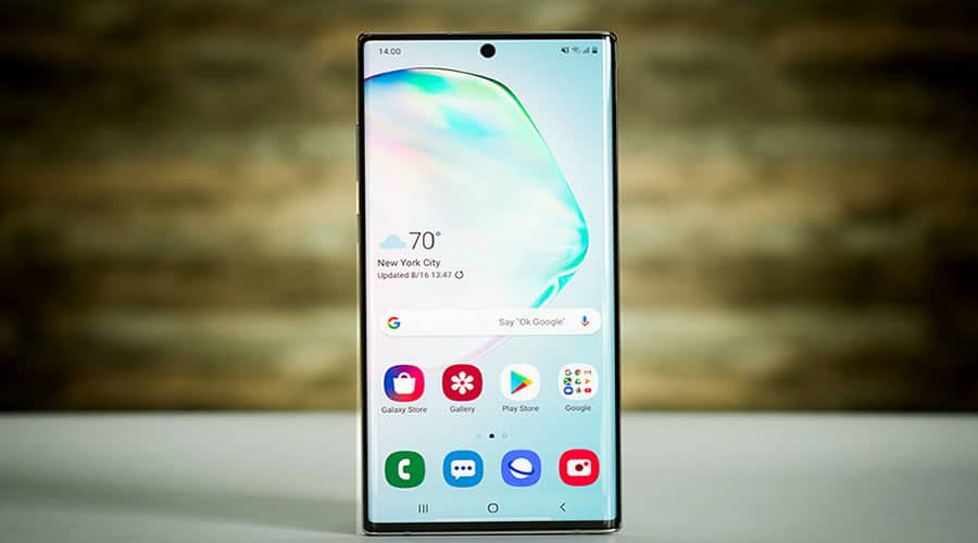 Choose the Galaxy Note 10 for business