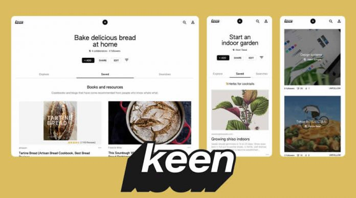 Google launched Keen