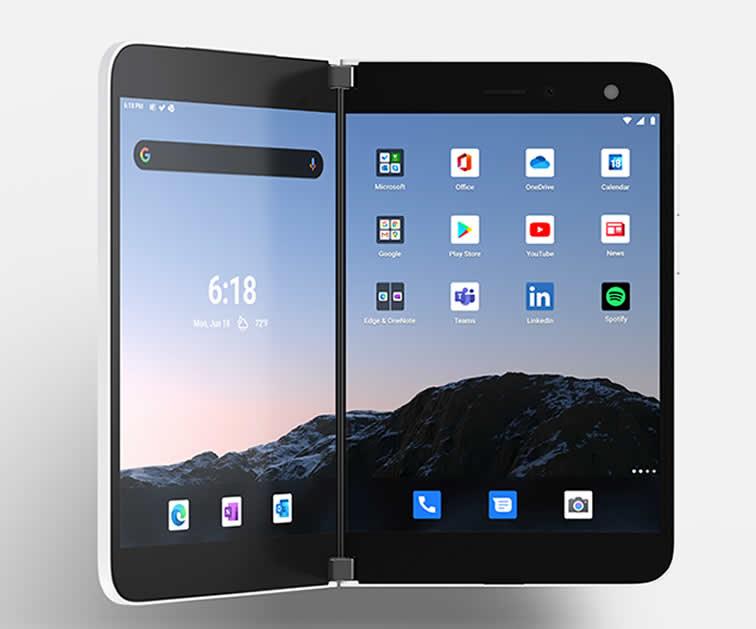 Microsoft Surface Duo duel-screen