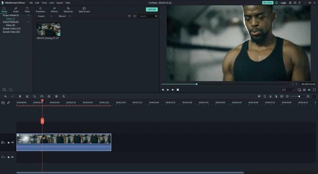Color Grade Videos Using Filmora